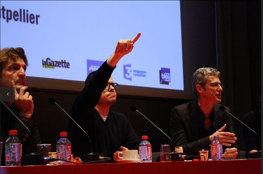 Les productions du M2 journalisme au Forum Libération