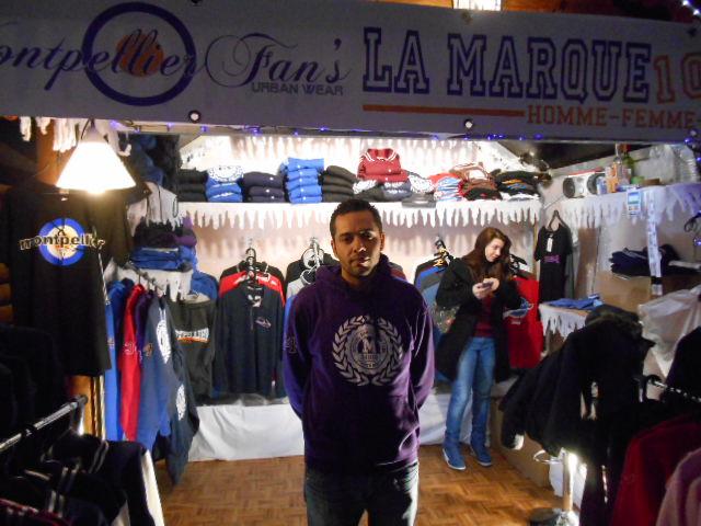 Montpellier Fans : La marque de vêtements made in Montpellier s'expose au marché de noël
