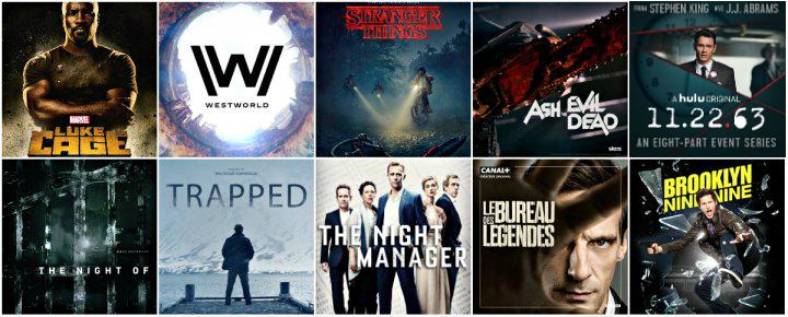 Les 10 séries à retenir de 2016