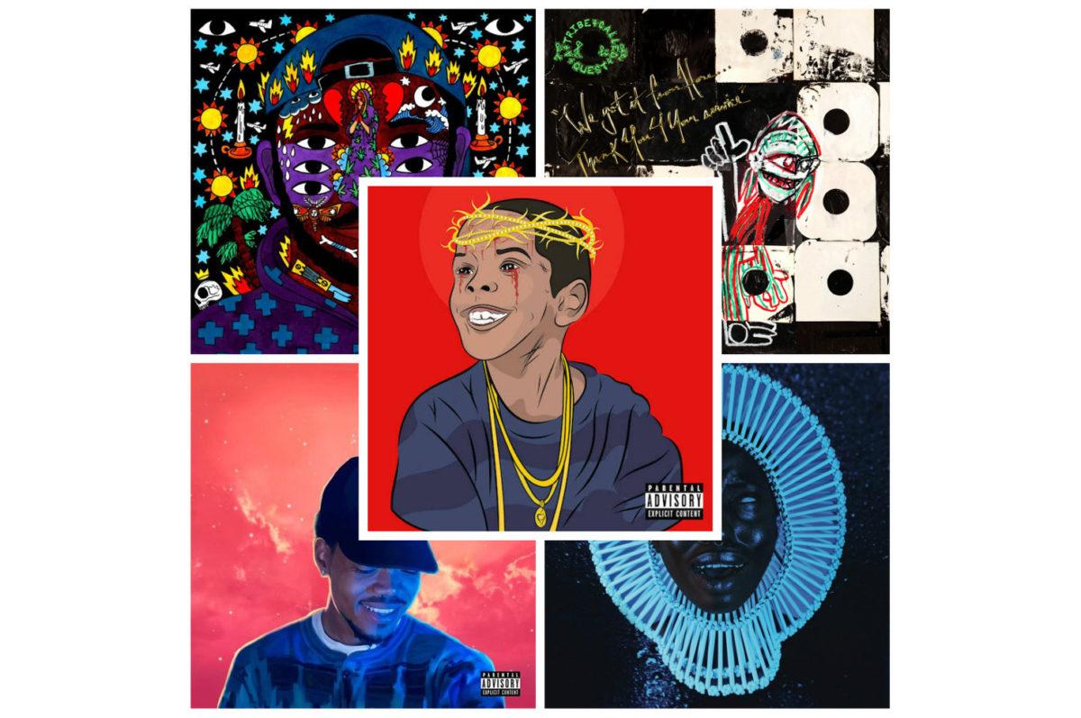 Du rap pour tous les goûts – Top 5 des albums de 2016