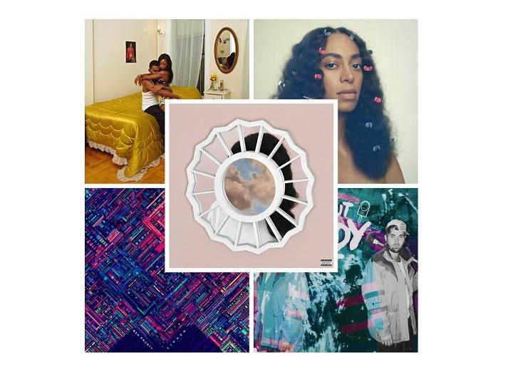 Esthétique, introspectif et aérien – Top 5 des albums de 2016