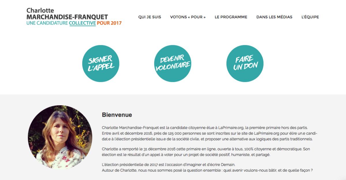 Élection présidentielle : 5 questions à Charlotte Marchandise, candidate « citoyenne »