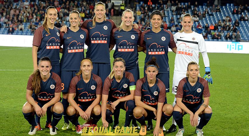 SPORT : Une défaite cruelle pour les montpelliéraines contre le Zvezda 2005 [0-1]