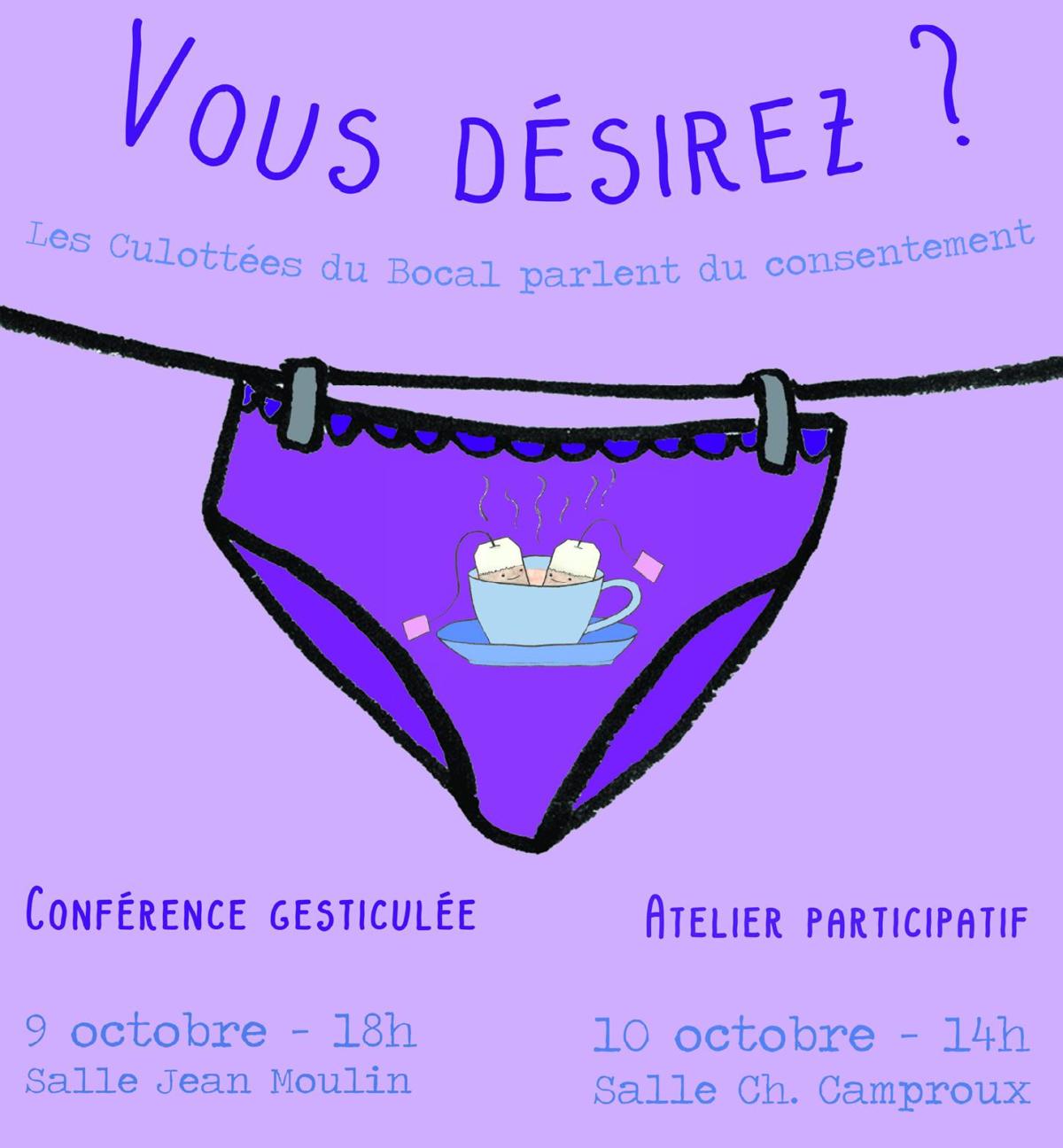 SOCIETE – Conférence gesticulée : le viol et le consentement questionnés