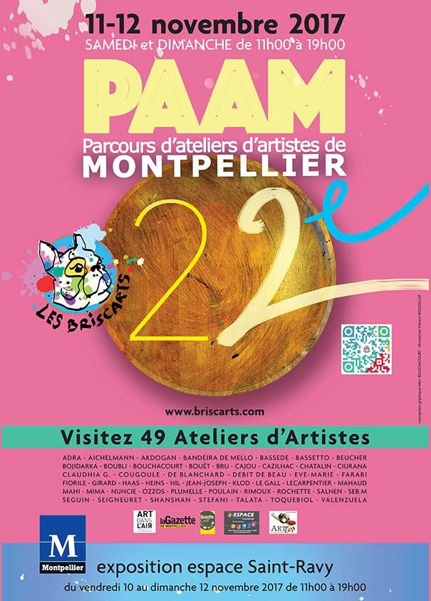 CULTURE – Les Briscarts : 22e Parcours d'ateliers d'artistes de Montpellier