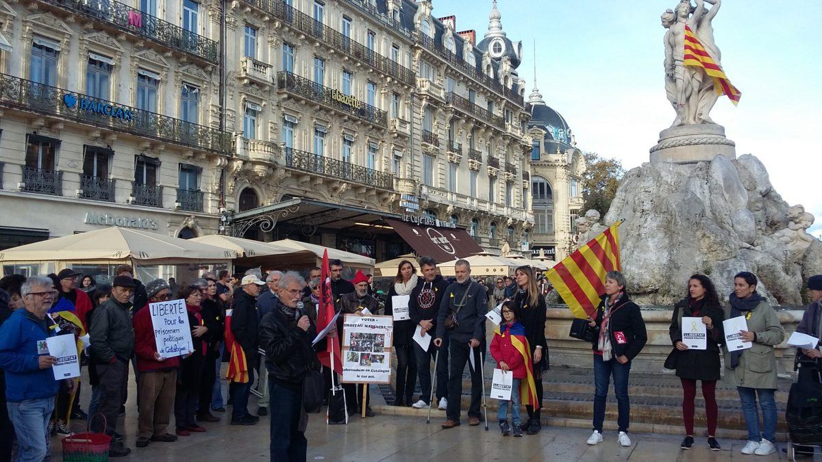 A Montpellier, une bien faible solidarité catalane