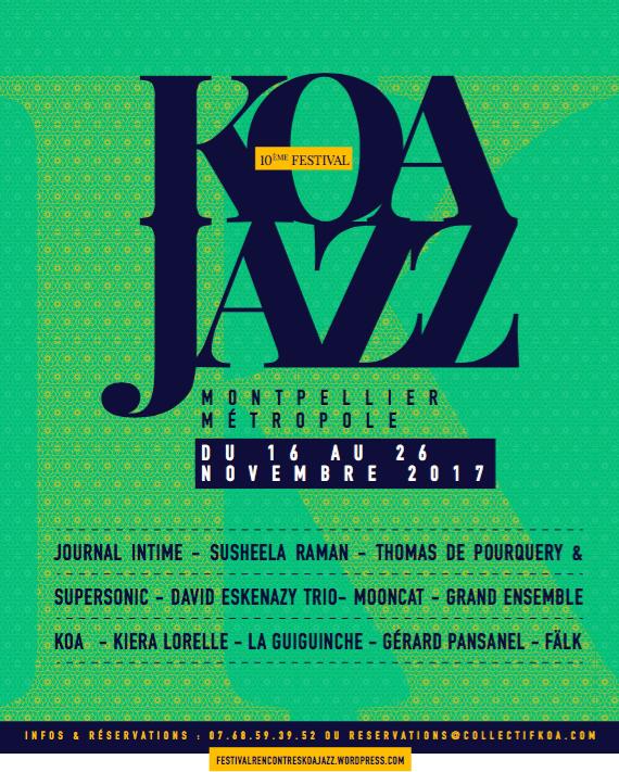 MUSIQUE – 10e Koa Jazz Festival : une programmation éclectique