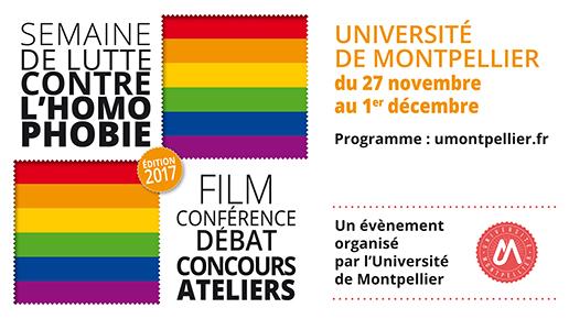 Semaine de lutte contre l'homophobie : l'Université s'engage