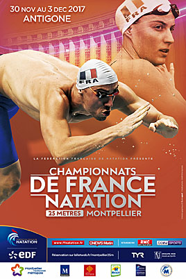 SPORT – Montpellier accueille les championnats de France 25m de natation