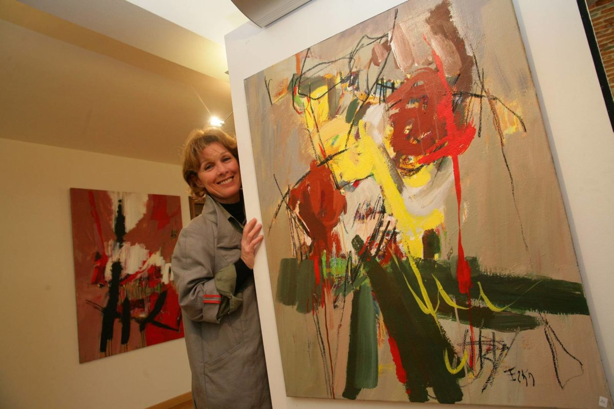 Erka : « La peinture, un organe supplémentaire »