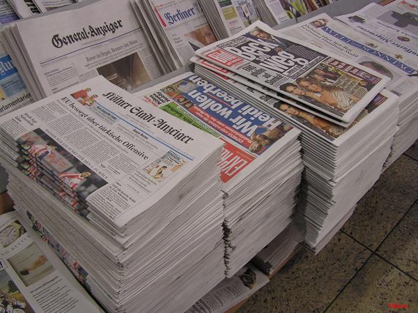 La presse allemande tente de faire face