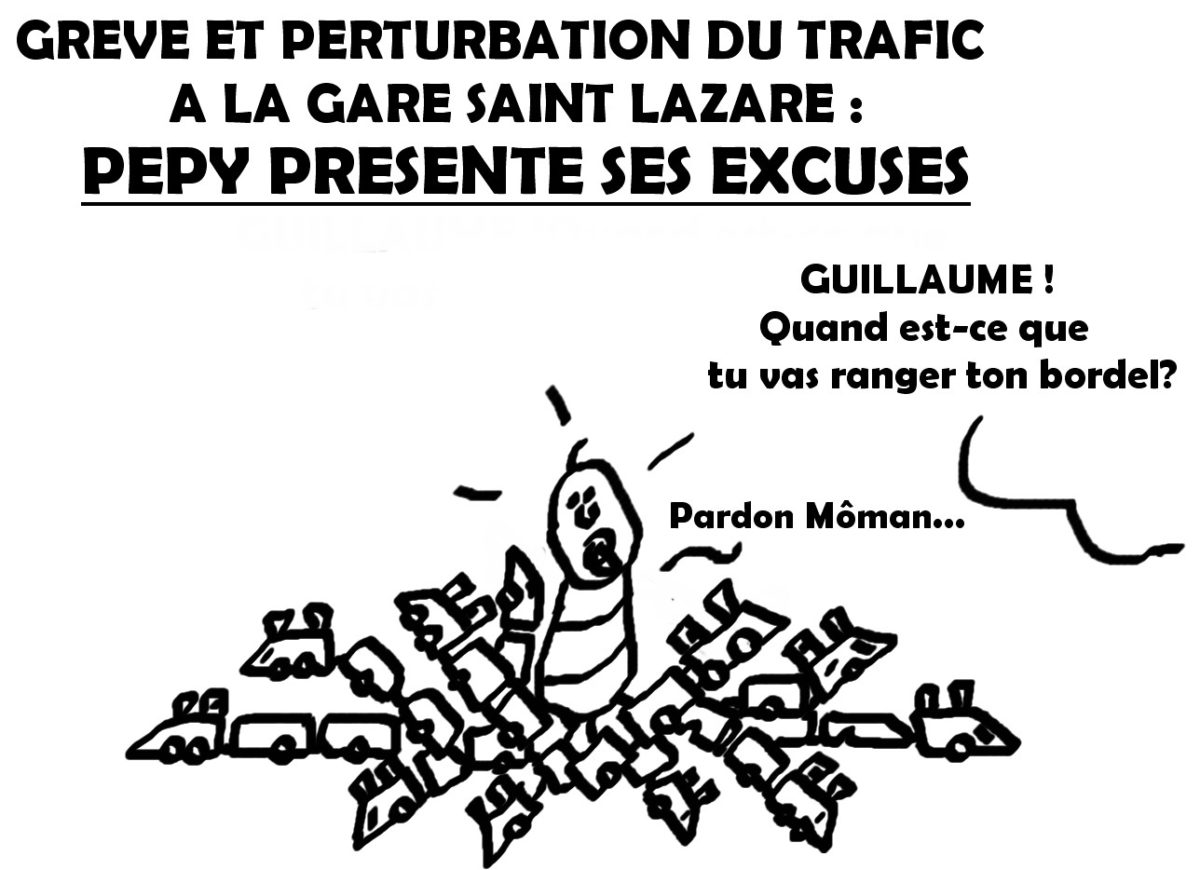 Quand on fait une grève à la SNCF, on s'en apercoit (encore)…