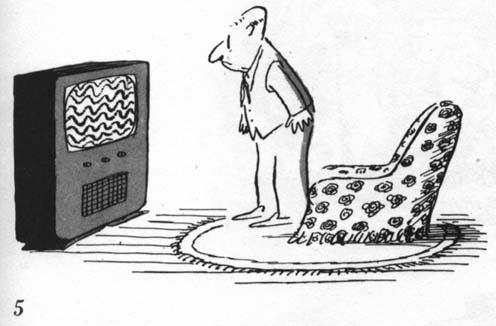 Télé en panne