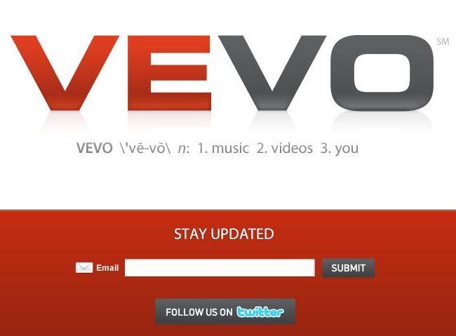 Avec Youtube et Universal, tout va à Vevo
