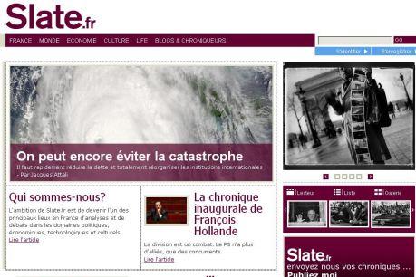 Slate.fr, l'information à l'américaine