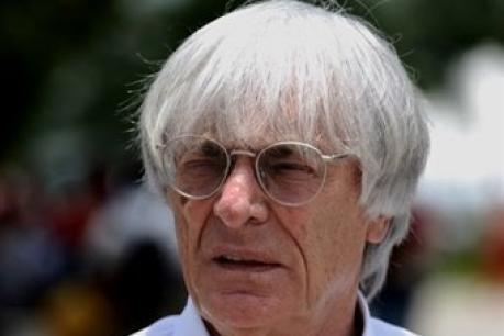 Bernie Ecclestone en roue libre