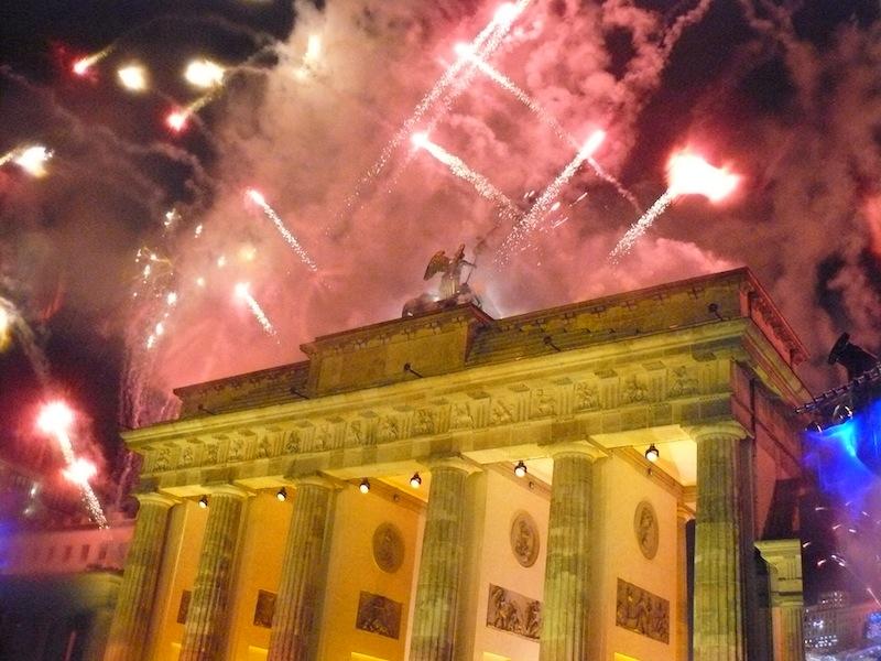 Le monde à Berlin en mémoire de la chute du Mur
