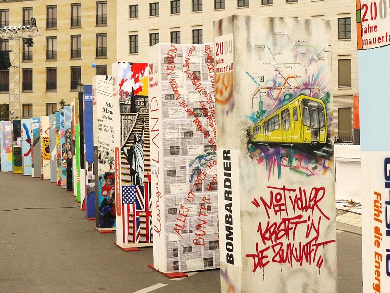 Un mur symbolique s'écroule