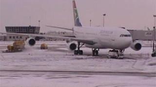 Quand neige et aviation ne font pas bon ménage
