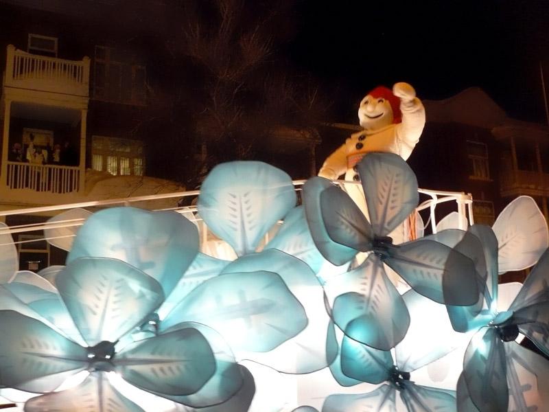A Québec, Bonhomme fait son carnaval