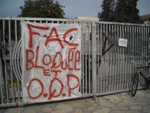 A Montpellier, les blocages n'empêcheront pas les exams