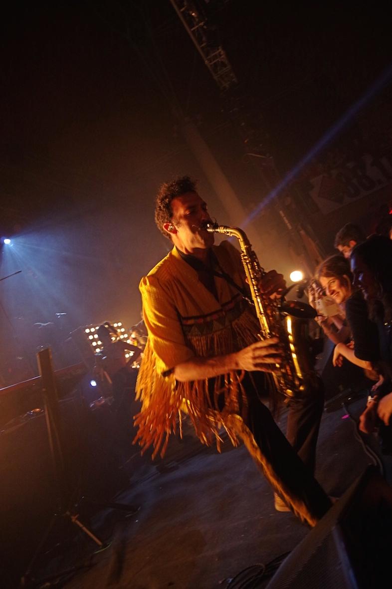 Pépé, le saxophoniste déjanté (crédit photo : Louis Rayssac)