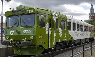 En Suède, les vaches font rouler des trains
