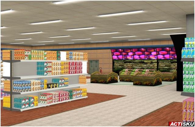 Des magasins en 3D