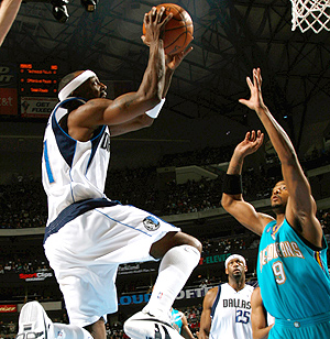 Jason Terry, artisan de la victoire de Dallas avec 25 points.