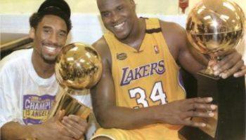 Kobe et Shaq, entre sourirs et rivalités
