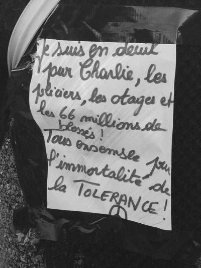 L'immortalité de la tolérance.