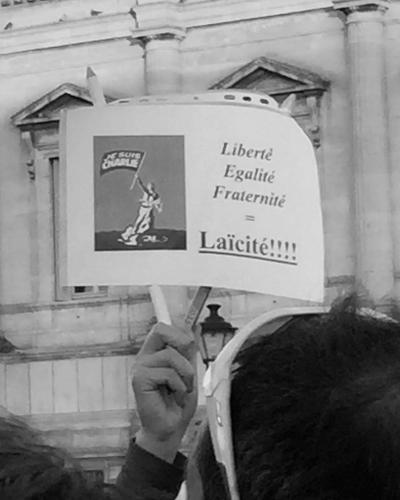 Liberté Egalité Fraternité = Laïcité