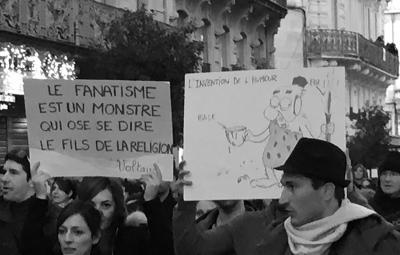 Le fanatisme est un monstre qui ose se dire le fils de la religion, Voltaire. / L'invention de l'humour.