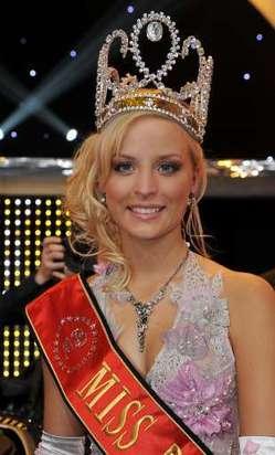 Alizée Poulicek a été élue Miss Belgique 2008