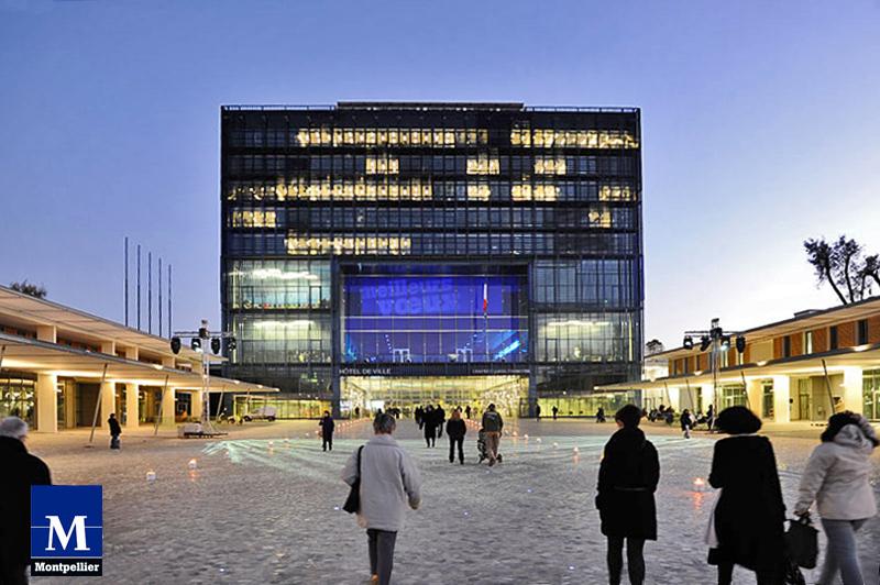 La mairie de Montpellier