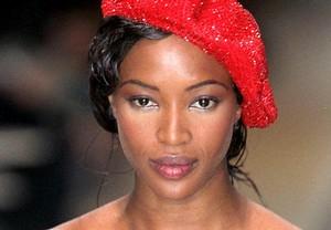 Naomi Campbell, le modèle...