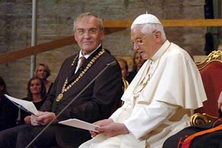 Benoît XVI aux USA : la foi, la raison, et le Proche-Orient