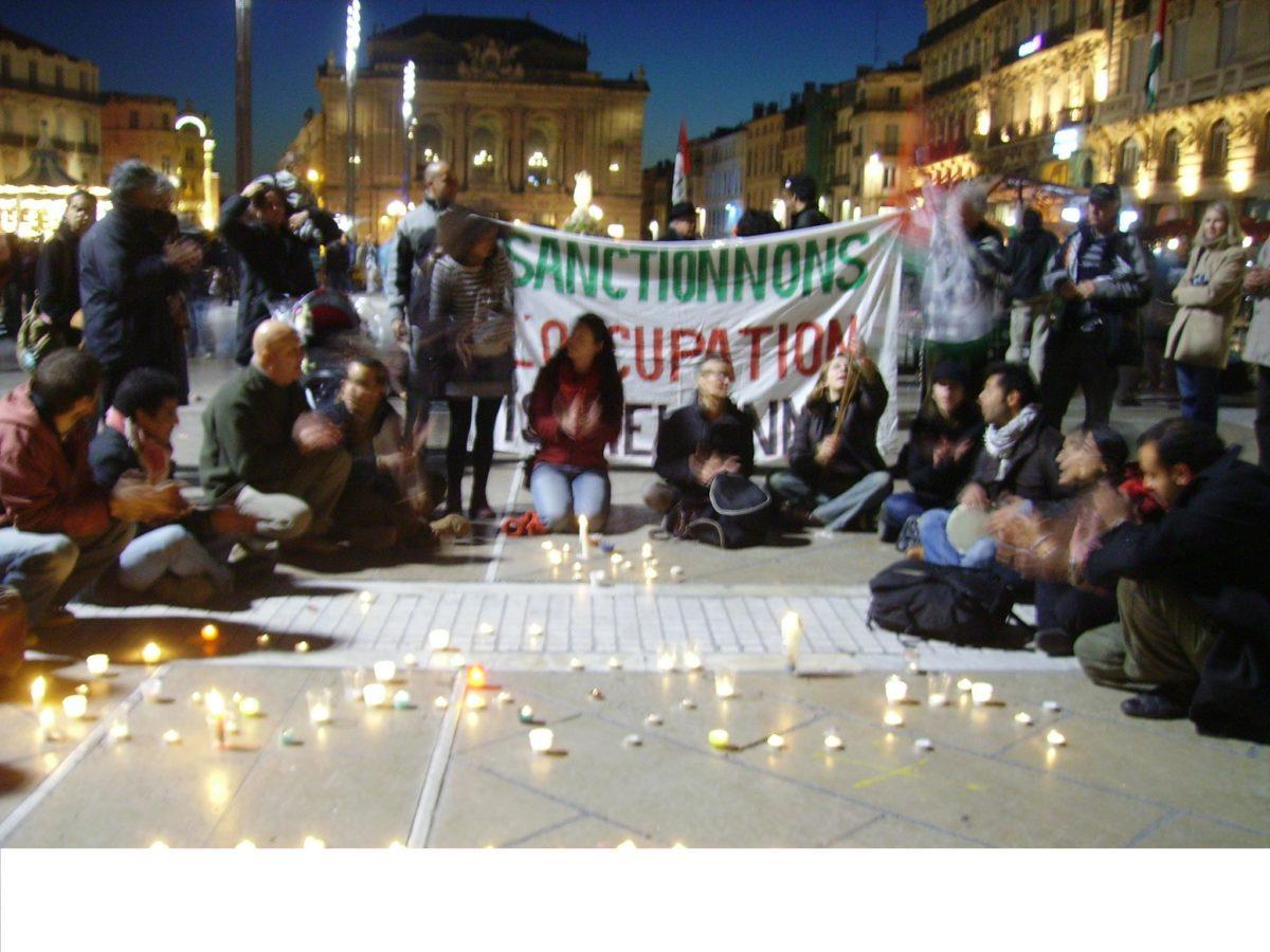 Veillée de solidarité à Montpellier